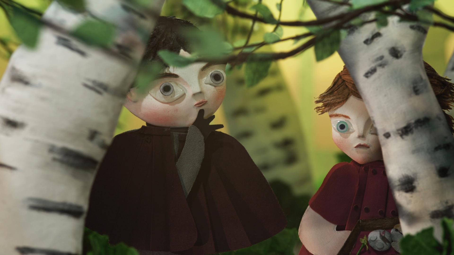 6_jenta og guten i bjørkeskogen